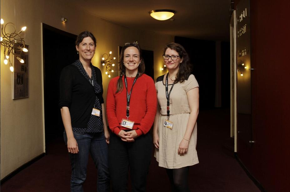 Filmteam in Schwerin